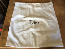 Used - Bag Cover DIOR Funsa Bolsa - White color Blanco - 50,5 x 45 cm - Usado