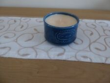 Blue Sugar Bowl Candle (Vanilla Scent)