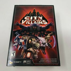City of Villains (PC Game) - NEW IN BOX