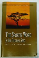 The Spoken Word is the Original Seed by William Branham