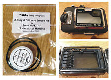 Replacement O-ring & Silicone Grease Kit for Sony MPK-THH Diving Underwater Case