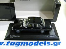 MINICHAMPS 1:43  FORD TAUNUS 1964 TAXI  BRAND NEW -BOXED