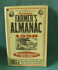 Harris' Farmers' Almanac for the year of our Lord 1998