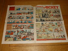 LE JOURNAL DE MICKEY French Comic - No 250 - Date 30/07/1939 French Paper Comic