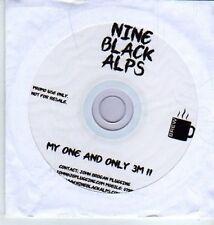 (DA377) Nine Black Alps, My One And Only 3M  II - DJ CD