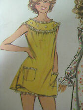 Vintage Simplicity 5030 CHRISSY SNOW NIGHTGOWN & BLOOMERS Sewing Pattern Women