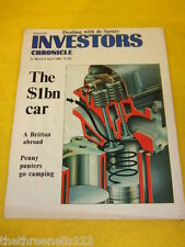 INVESTORS CHRONICLE - THE $1bn CAR - MARCH 31 1989