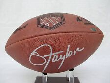 Lawrence Taylor Signed Wilson Super Bowl XXV New York Giants Football TriStar