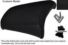 BLACK STITCH CUSTOM R1200 GS ADVENTURE FITS BMW REAR PILLION 04-12 SEAT COVER