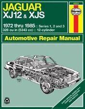 New Jaguar XJ12 & XJS (inc. XJSC Cabriolet, Series 1,2 & 3) (72-85) Haynes Repai