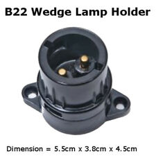 5 pcs B22 Wedge Lamp Holder Bayonet Cap Bulb Light Fitting Accessories 240V BC