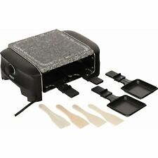 Princess 4 Stone Grill Party Raclette, schwarz