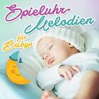 CD Mélodies de la boîte à musique pour Bébés d'Artistes divers