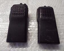 set of 2 Kenwood TK-360 UHF FM Transceiver Two-Way Portable Handheld Radio @An1