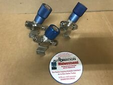 LOT OF 3 FLOWLINK 963000 955706 955707 1/4 IN FVCR REGULATOR VALVE SHIPSAMEDAY