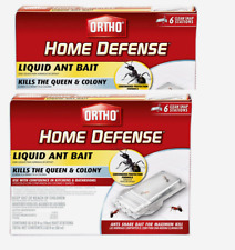 2~ Ortho HOME DEFENSE Liquid ANT BAIT Kill 6 Stations 0464812 NO SALE IN CA