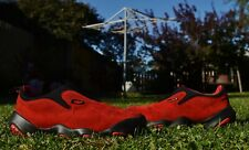 Oakley Bottlecap Flesh Hiking Shoes Men's Size 11 Red Black Suede Sneakers Rave