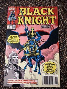 Black Knight #1 (1990) 1st Solo Dane Whitman Series Newsstand
