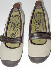 Gr8 cond!Merrell Plaza Bandeau Mary Jane Women's U.S. 7 taupe,suede/leather$100