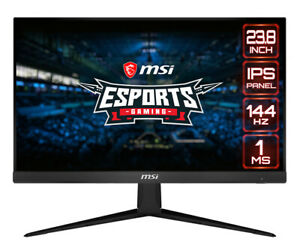 "MSI Optix G241 24"" IPS LED Monitor 16:9, IPS, 1080p, FreeSync, 120Hz, 1ms, HDMI"
