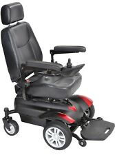 New Drive 4MPH Powerchair With Captain Seat 19 mile 3 Months FREE insurance