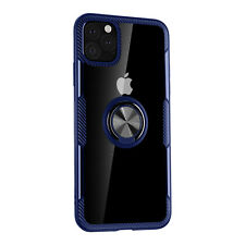 For iPhone 11 Pro Max 2019 Case Shockproof Hybrid Rubber Magnetic Stand Cover