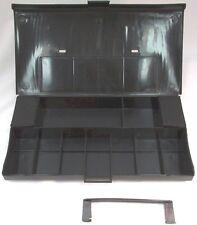 Vintage Aurora AFX Slot Car Pit Kit Carrying Case Black 1973