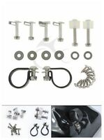 Lower Vented Fairing Mounting Kit Bolts Set For Harley HD Road King Street Glide