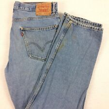 LEVI's 550 Relaxed Fit Jeans Mens Size 34 x 30 (tagged 36 x 32) Light Washed Dad