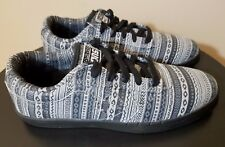 Mens Converse Shoes Size 9 CONS Skate Sneakers Black Gray KA II OX Wizard