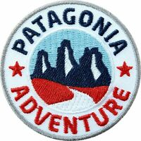 Patagonia Adventure Patch Iron/Sew-on Badge South America Chile Argentina Trek