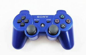 Used Playstation 3 Dualshock 3 Wireless Controller - Blue