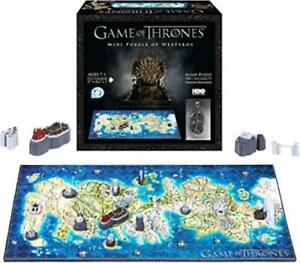 4D Cityscape 4D Puzzle Game of Thrones - 4D Puzzle of Westeros NM