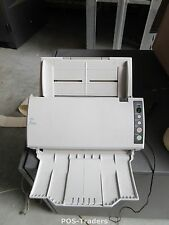 10 SCANS - FUJITSU FI-6110 Scanner 20ppm 40ipm A4 COLOR DUPLEX USB 8/24 Bit