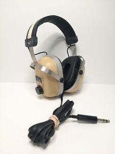 Vintage Sansui SS-60 Rare Stereo Headphones Volume Control Both Sides Free Ship