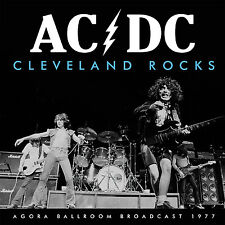 AC/DC New Sealed 2017 UNRELEASED LIVE 1977 CLEVELAND 1ST US TOUR CONCERT CD