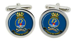 HMAS Shepparton Royal Australian Navy Cufflinks in Box