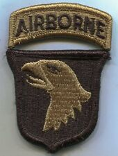 US Army 101st Airborne Division Multicam Patch W/Tab