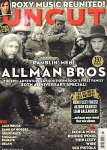 MAGAZINE UNCUT 2011 # 165 - ALLMAN BROTHERS/ROXY MUSIC/THIN LIZZY/SEX PISTOLS
