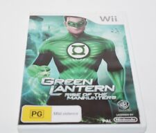Nintendo Wii Green Lantern Rise Of The Manhunters Game Complete Aus release