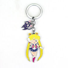 Sailor Moon Portachiavi in Metallo Sailor Moon & Luna - 6 cm