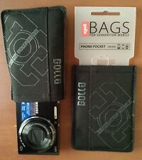 Black Golla Bags For Generation Mobile Smartphone Phone/ Camera Pocket  NWT!