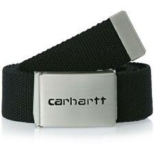 Carhartt Clip Belt Chrome Cintura Uomo I019176.06 8900 Black