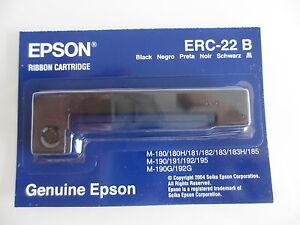 Epson ERC-22B Ribbon  OLIVETTI ECR2450 ECR 2450 TA Calculator CMS 430