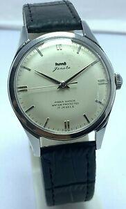 Vintage HMT Janata Hand-Winding 17Jewels Movement India Made Men's Wristwatch