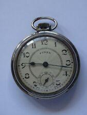 Antique  Pocket  Watch  FIDES