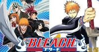ANIME BLEACH (Episode 1 - 366) Complete DVD English AUDIO