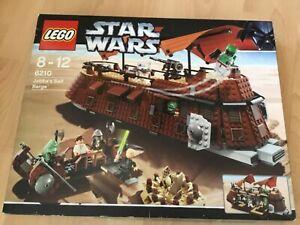 Lego Star Wars Set 6210 Jabba's Sail Barge neu geöffnet   aus Sammlung