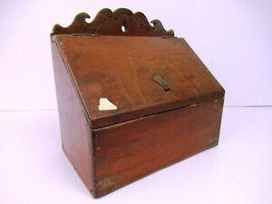 """Vintage Desk Teak Office Stationery Cabinet Letter Envelope Paper Rack Box """"F2"""