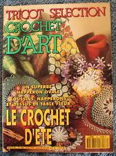 Tricot Sélection CROCHET D'ART - n°188 de 1993